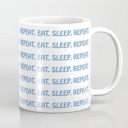 Eat Sleep Repeat Coffee Mug