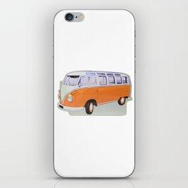 combi orange iPhone Skin