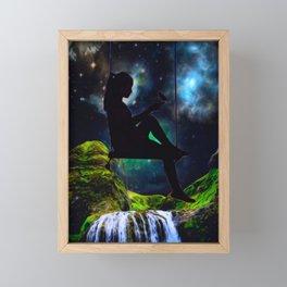that girl Framed Mini Art Print