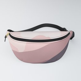 Pinky Dust Mountain Fanny Pack