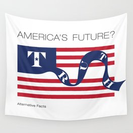 America's Future? Alternative Facts Wall Tapestry