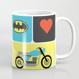 The Bike & The Bat Coffee Mug