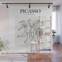 Picasso - Les Trois Danseuses Wall Mural