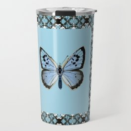 Blue Butterfly Travel Mug