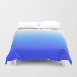 Aqua Ombre Duvet Cover