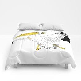 Petra the Pelican Comforters