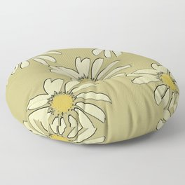 All About Daisies Floor Pillow