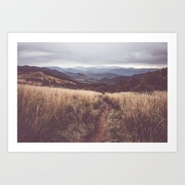 Bieszczady Mountains - Landscape and Nature Photography Art Print