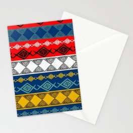 Colorful Tribal Stationery Cards