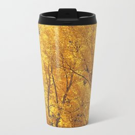 Colorado Gold Metal Travel Mug