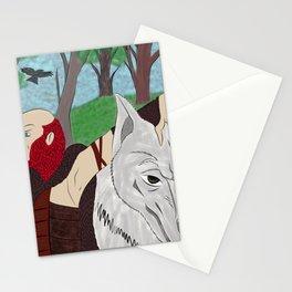 Pelirrojo y Lobo Stationery Cards