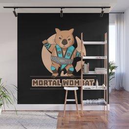 Mortal Wombat Wall Mural