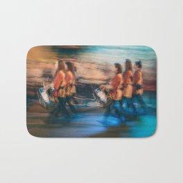The tambourine players Bath Mat