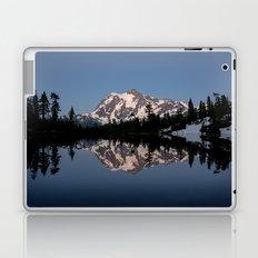 Mt. Shuksan - Blue Hour Reflection Laptop & iPad Skin