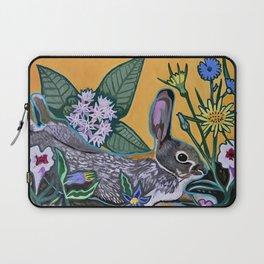 Rabbit Kickin' Back Laptop Sleeve