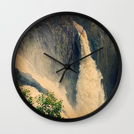 Barron Falls in retro style Wall Clock