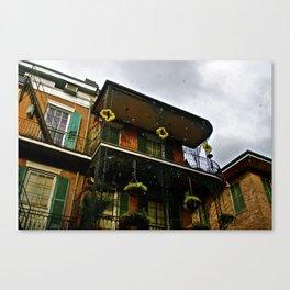 New Orleans Bubbles Canvas Print