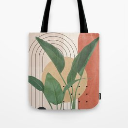 Nature Geometry V Tote Bag