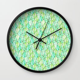 Emeralds Wall Clock