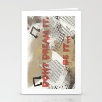 rocky horror Stationery Cards featuring Rocky Horror - Don't Dream It... by Mel (life_like_disney)