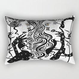 Gemini - Zodiac Sign Rectangular Pillow