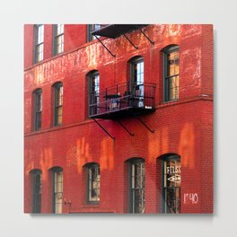 Filson building, Portland, Oregon Metal Print