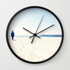 Beach & Blue Wall Clock