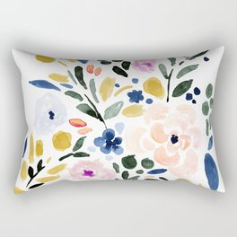 Sierra Floral Rectangular Pillow