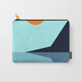 Abstract and geometric landscape 10 Carry-All Pouch