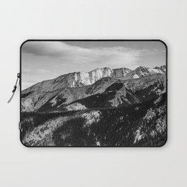 Black and White Mountains Laptop Sleeve