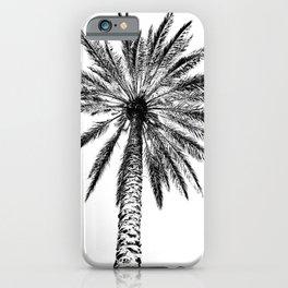 Palm Monochrome iPhone Case