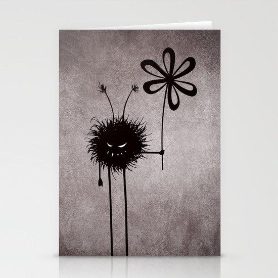 Evil Flower Bug Stationery Cards