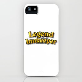 Legend of the Innkeeper Podcast iPhone Case