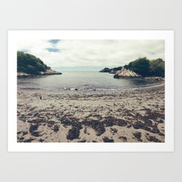 Moonrise Kingdom Beach - Wes Anderson Art Print