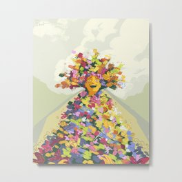 Midsommar Art 2 - Mad Metal Print