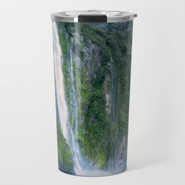 Stirling Falls at Milford Sound Travel Mug