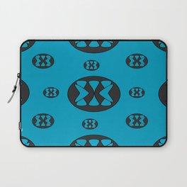 blue patterns Laptop Sleeve