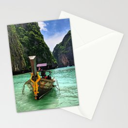 Boats of Thailand Stationery Cards