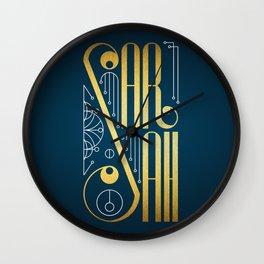 Sarah Wall Clock