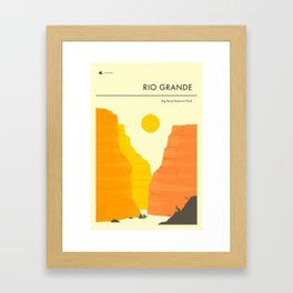 THE RIO GRANDE Framed Art Print