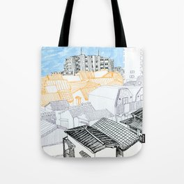 Tokyo landscape Tote Bag