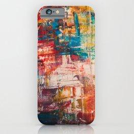 Abstract Mayhem iPhone Case