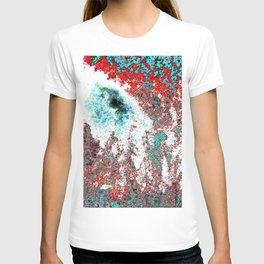 Volcanic Ice (My Christmas contribution) T-shirt