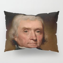 Official Presidential portrait of Thomas Jefferson Pillow Sham