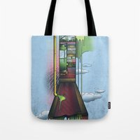 melbourne Tote Bags featuring Melbourne by Mel Muraca