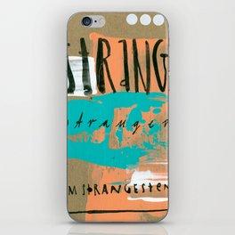 STRANGE stranger iPhone Skin