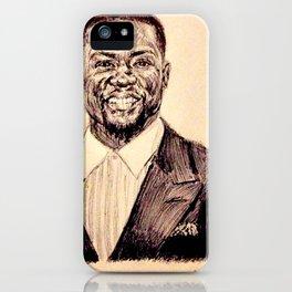 KEVIN HART PORTRAIT iPhone Case