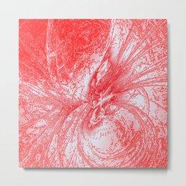 Splatter in Fruit Punch Metal Print