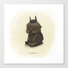 Wombatman Canvas Print