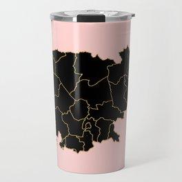 Cambodia map Travel Mug